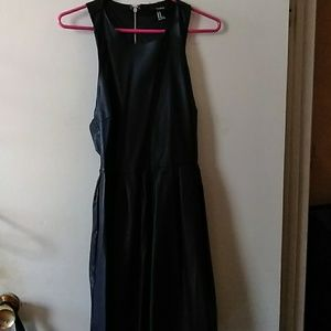 Vegan Leather Forever 21 Dress